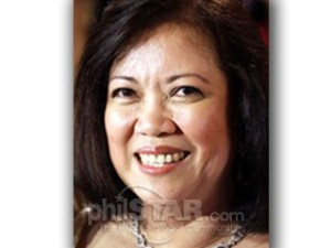 Supreme Court Chief Justice Maria Lourdes Sereno, 52.  She's eligible to serve for 18 years.